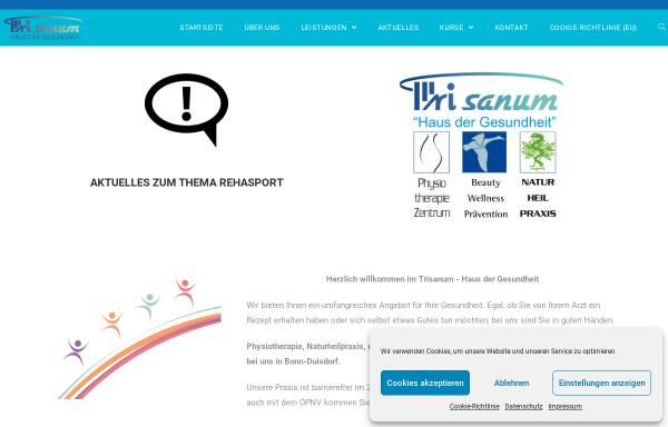 Vorschau von www.trisanum.de, Trisanum