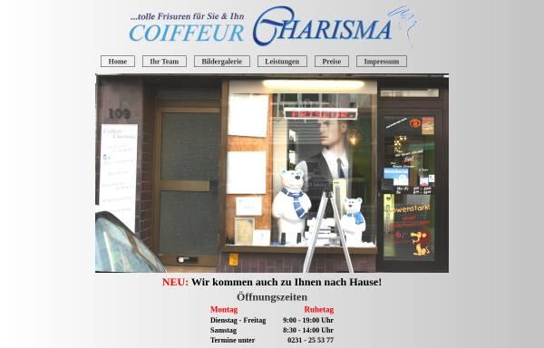 Vorschau von www.coiffeur-charisma.de, Coiffeur Charisma, Inhaberin Renate Zimmer