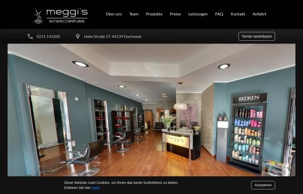 Vorschau von www.meggis-hairdesign.de, Meggis Hairdesign