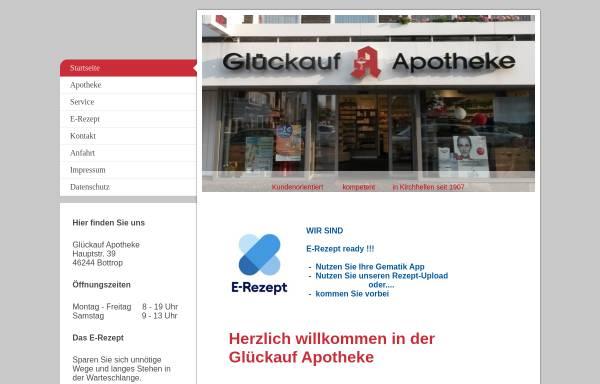 Vorschau von www.glueckauf-apotheke-kirchhellen.de, Glückauf-Apotheke