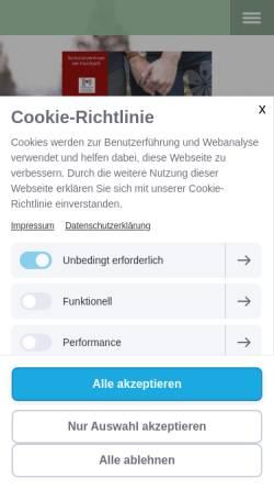 Vorschau der mobilen Webseite www.amhaarbach.de, Seniorenzentrum am Haarbach