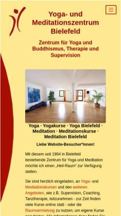 ... Vorschau Der Mobilen Webseite Www.yoga Meditieren.de, Yoga  Und  Meditationsraum