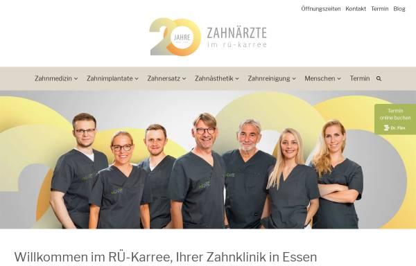 Vorschau von www.klinik-im-rue-karree.de, Klinik im RÜ-Karree