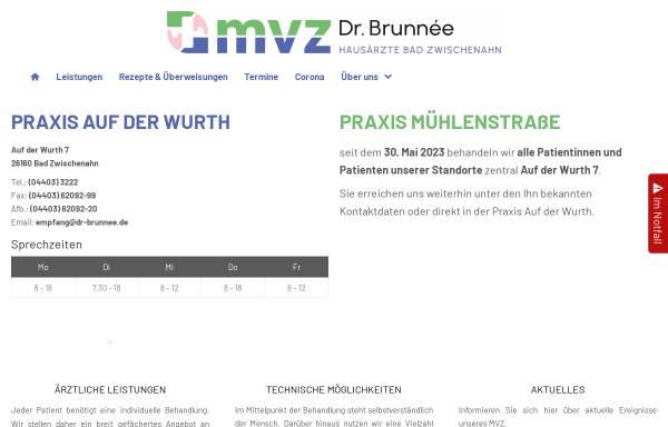 Vorschau von www.dr-brunnee.de, Dr. Tilo Brunnée