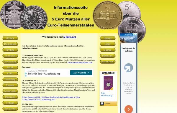 Vorschau von www.5-euro.net, 5-euro.net