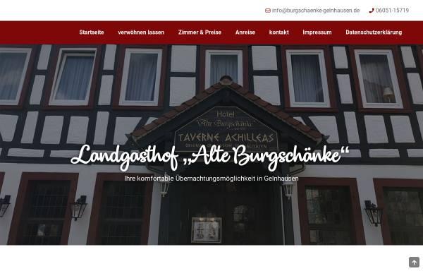 Hotel und Restaurant Burgschänke Gelnhausen: Gastgewerbe, Gelnhausen ...