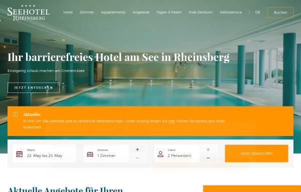 Vorschau von www.hausrheinsberg.de, Haus Rheinsberg - FDS Hotel gGmbH