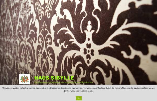 Vorschau von haussibylle.de, Gästehaus Sibylle