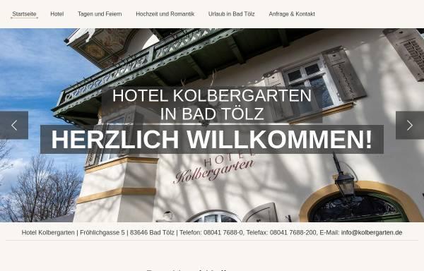 Vorschau von www.hotel-kolbergarten.de, Hotel Kolbergarten
