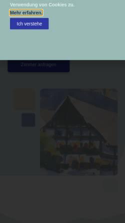 Vorschau der mobilen Webseite www.kurklinik-toelz.de, Wellness- und Reha-Klinik Frisia