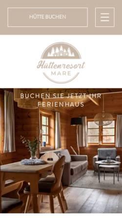 Vorschau der mobilen Webseite www.castro-riem.de, Ferienhäuser Castro-Riemenschneider