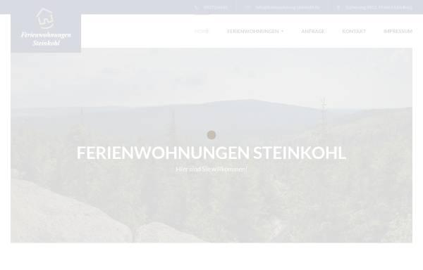 Vorschau von www.ferienwohnung-steinkohl.de, Ferienwohnungen Steinkohl