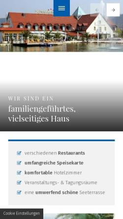 Vorschau der mobilen Webseite www.fichtelgebirgshof.de, Fichtelgebirgshof