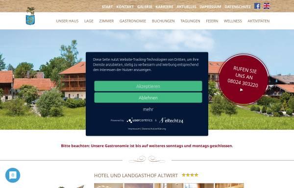 Vorschau von www.hotel-altwirt.de, Hotel Altwirt