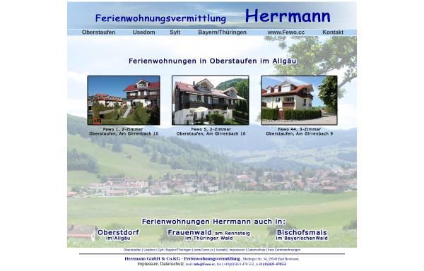 Vorschau von www.fewo-oberstaufen.de, Ferienwohnung im Allgäu