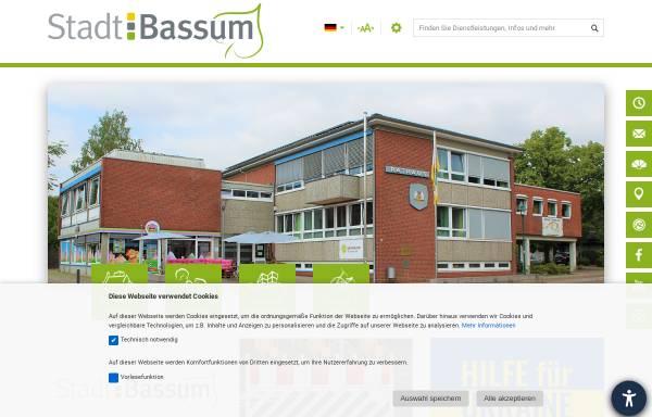 Vorschau von www.bassum.de, Bassum