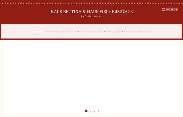 Vorschau von www.haus-fischermuehle.de, Haus Fischermuehle
