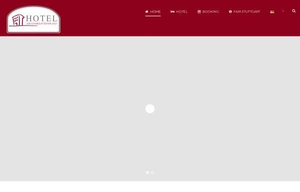 Vorschau von www.hotelamcharlottenplatz.de, Hotel am Charlottenplatz