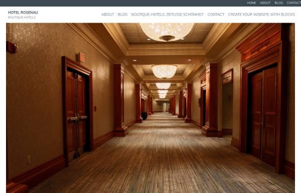Vorschau von www.hotel-rosenau.de, Hotel Rosenau