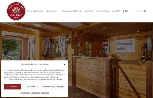 Vorschau von www.engel-hinterzarten.de, Gasthaus zum Engel