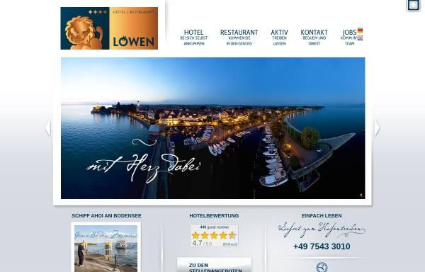 Vorschau von www.loewen-langenargen.de, Akzent Hotel Löwen