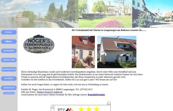 Vorschau von www.ferienwohnung-noger-langenargen.de, Ferienwohnung Noger