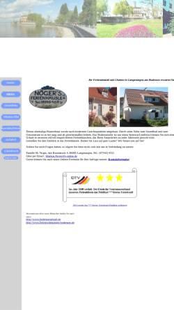 Vorschau der mobilen Webseite www.ferienwohnung-noger-langenargen.de, Ferienwohnung Noger