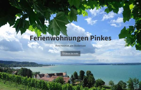 Vorschau von www.ferienwohnungen-pinkes.com, Ferienwohnungen Pinkes