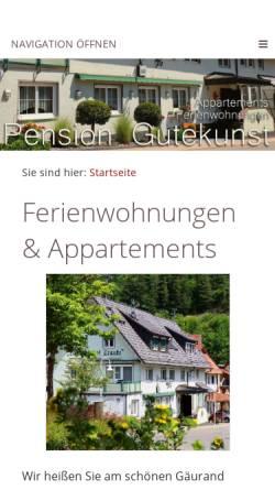 Vorschau der mobilen Webseite www.landgasthof-traube-nagold.de, Landgasthof Traube