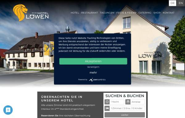 Vorschau von loewen-ulm.com, Gasthaus Löwen