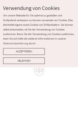 Vorschau der mobilen Webseite www.landgut-burg.de, Landgut Burg