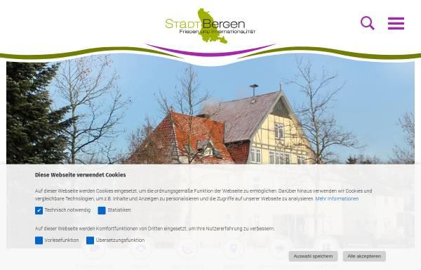 Vorschau von www.bergen-online.de, Stadt Bergen/LK Celle