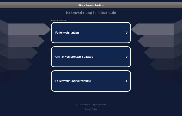 Vorschau von www.ferienwohnung-hillebrand.de, Ferienwohnung Hillebrand