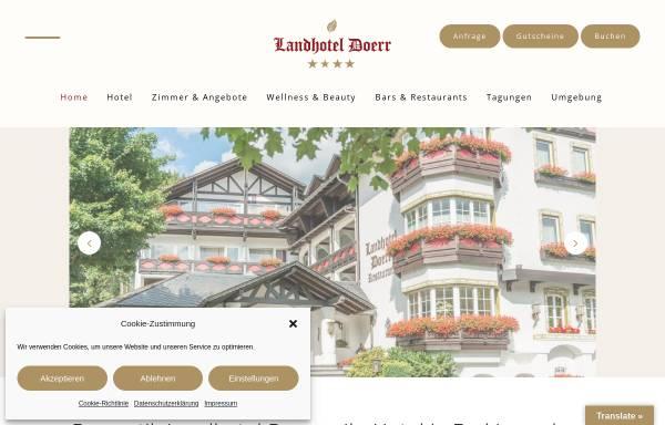 Vorschau von www.landhotel-doerr.de, Landhotel Doerr