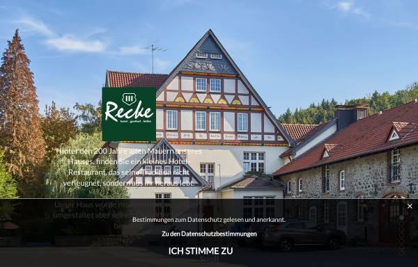 Vorschau von www.haus-recke.de, Hotel Haus Recke