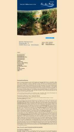 Vorschau der mobilen Webseite www.anderbieke.de, Pension An der Bieke