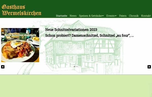 Vorschau von www.gasthaus-wermelskirchen.de, Gasthaus Wermelskirchen Bensberg