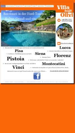 Vorschau der mobilen Webseite www.villa-olivi.de, Italienisch-Sprachkurse und Ferienwohnungen