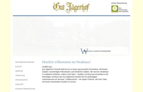 Vorschau von www.gut-jaegerhof.de, Restaurant Gut Jägerhof