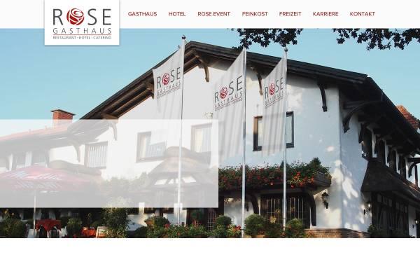 Vorschau von www.gasthausrose.net, Gasthaus Rose