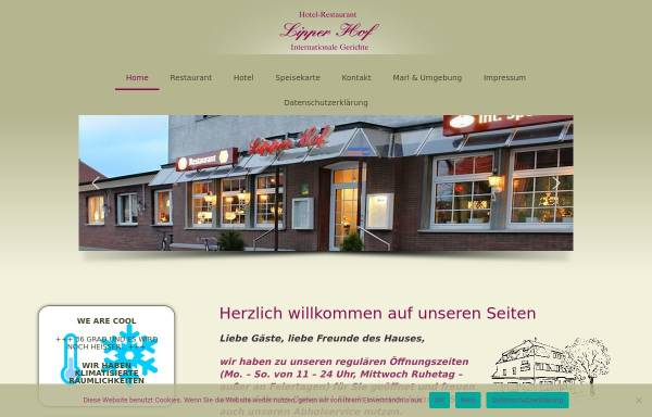 Vorschau von www.lipper-hof.de, Lipper Hof