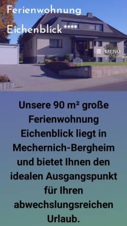 Vorschau der mobilen Webseite ferienwohnung-brock.de, Ferienwohnung Brock