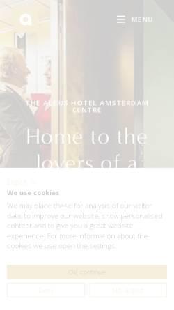 Vorschau der mobilen Webseite goo.gl, Hotel Albus