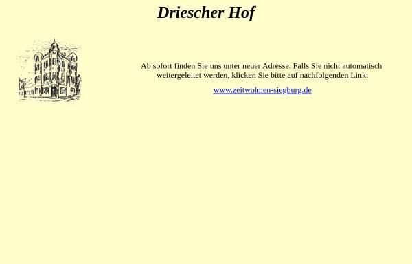 Vorschau von www.driescher-hof.de, Hotel Driescher Hof
