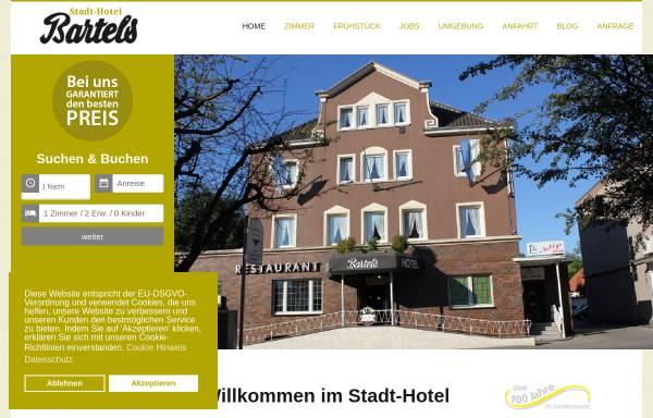 Vorschau von www.stadthotel-bartels.de, Stadthotel Bartels