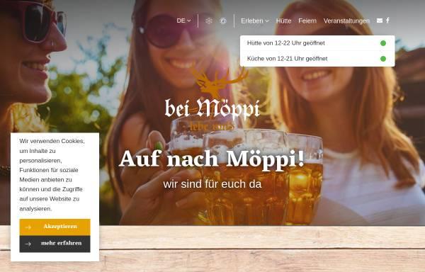 Vorschau von www.bei-moeppi.de, Skihütte Poppenberg