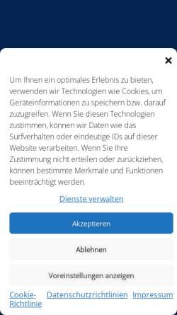 Vorschau der mobilen Webseite www.brauerei-schumacher.de, Brauerei Schumacher