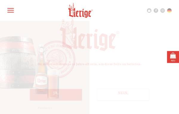 Vorschau von www.uerige.de, Uerige Obergärige Hausbrauerei GmbH