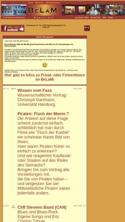 Vorschau der mobilen Webseite www.belami-hamburg.de, BeLaMi, Bergedorf