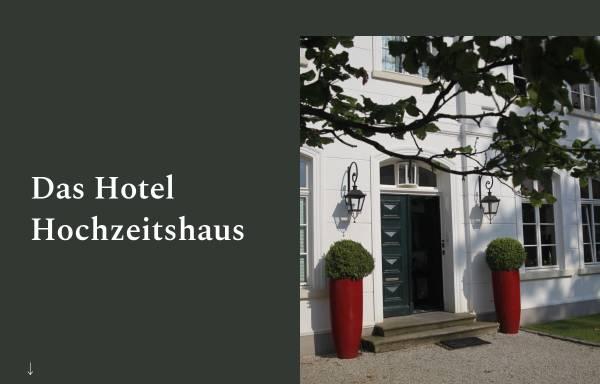 Vorschau von www.hochzeitshaus-aurich.de, Hotel Hochzeitshaus Aurich